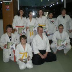 le groupe Aikido club ERSTEIN  des 11 à 15 ans