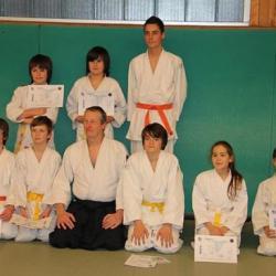 Photo de groupe des 7 à 10 ans