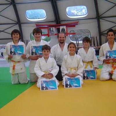 """""""stage jeunes"""" le 16/10/2010 au dojo de la Roseraie à Saverne"""